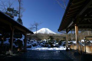 富士山 見える 温泉