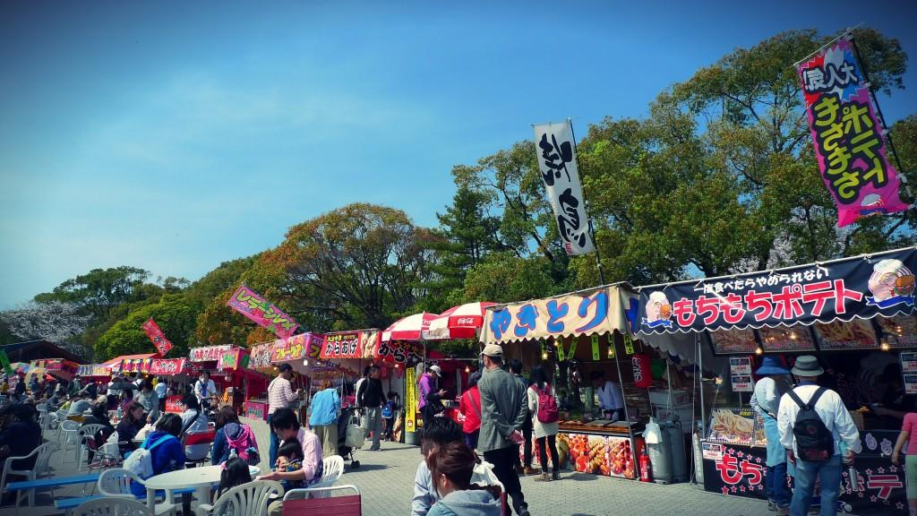 福岡城さくらまつり屋台