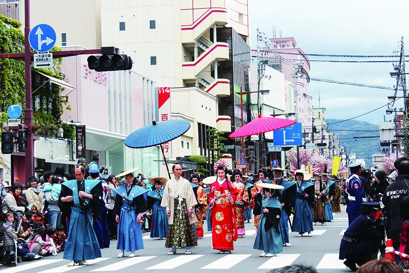 松山春まつり! お城まつりの2017年の日程は? 大名行列の姫とディズニーは?