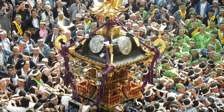 下谷神社大祭2017! 屋台が130も出店? 見どころは本社神輿!