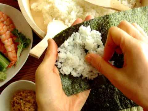 巻き寿司の巻き方のコツは?成功する巻き方を動画付きで徹底解説!!