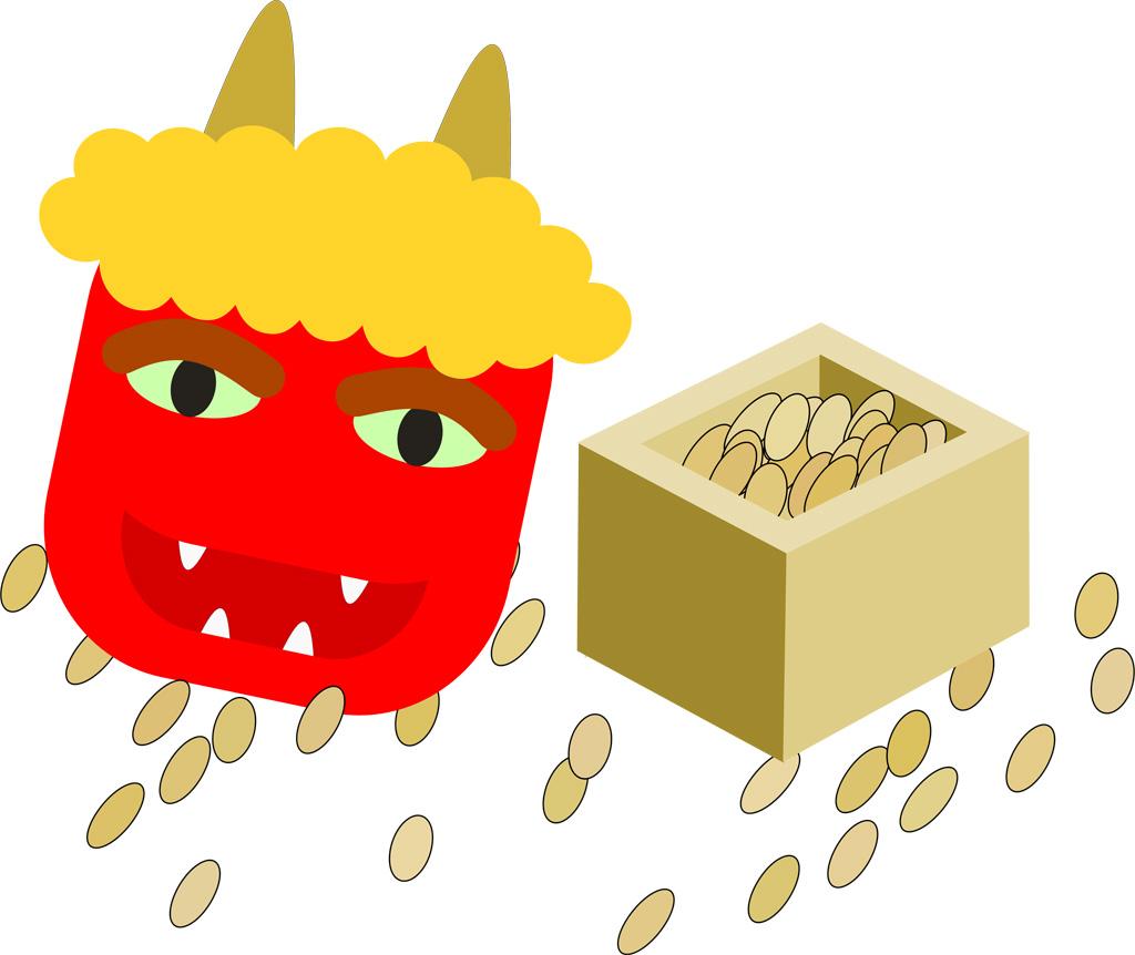 豆まきの由来を子どもにうまく伝えるには? 説明テンプレあります!