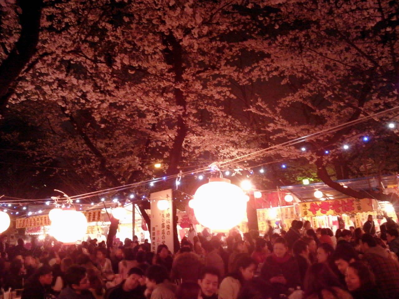 靖国神社桜まつり2018の日程!見頃や桜の種類は?屋台情報も!